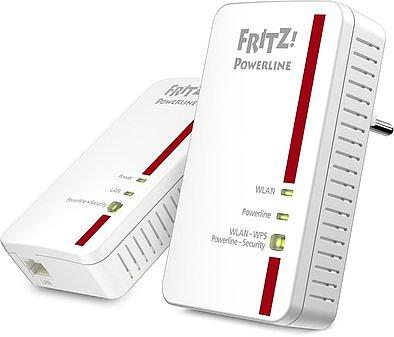 Produktabbildung AVM FRITZ!Powerline 1240E Set weiß/rot