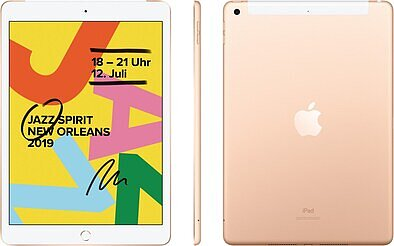 Produktabbildung Apple iPad (32GB) WiFi + 4G 7.Generation gold