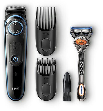 Produktabbildung Braun BT5040 BeardTrimmer schwarz/blau