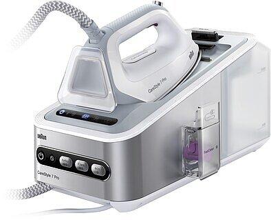 Produktabbildung Braun CareStyle 7 Pro IS7155WH weiß/silber
