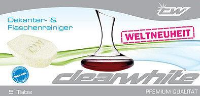Produktabbildung Clearwhite CW35057 Dekanter- u. Flaschenreiniger