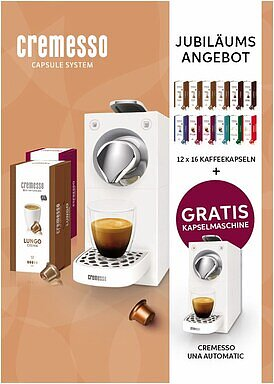 Produktabbildung Cremesso 1000767 - Bundle Una Automatic 2019 midnight blue