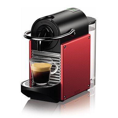 Produktabbildung DeLonghi EN124.R Nespresso Pixie electric carmin