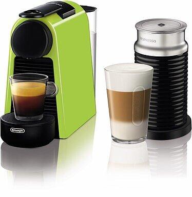 Produktabbildung DeLonghi EN85.LAE Nespresso Essenza Mini grün/schwarz