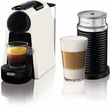Produktabbildung DeLonghi EN85.WAE Nespresso Essenza Mini creme/schwarz