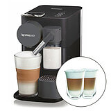 SET EN500.B Nespresso Lattissima One schwarz + Thermogläser