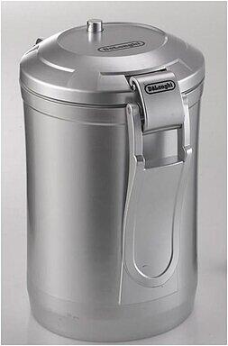 Produktabbildung DeLonghi Vacuum Kaffee Kanister silber für 500g