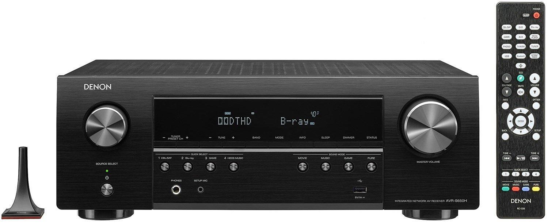 Denon AVR-S650H schwarz Klang-Effekt Receiver - RED ZAC