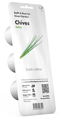 Produktabbildung Emsa 600063 - Click & Grow Schnittlauch Substratkapsel 3 Stk.