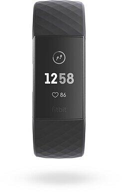 Produktabbildung Fitbit Charge 3 graphit/schwarz