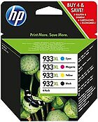 HP Ink 932 XL + 933 XL Tinte Combo Pack