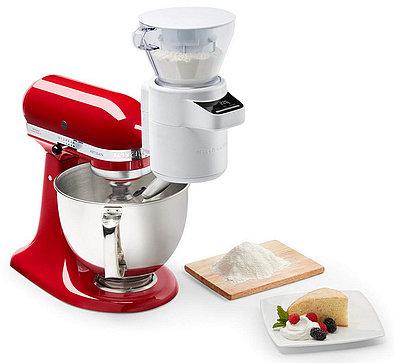 Produktabbildung KitchenAid SET 5KSM175PSEER Artisan empire rot + 5KSMSFTA