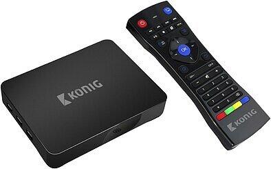Produktabbildung König KN-4KASB Android 4K-Streaming-Box