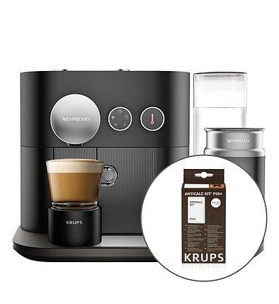 krups set xn 6018 nespresso expert milk schwarz entkalker nespresso kapsel automat red zac