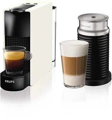 Produktabbildung Krups XN1111 Essenza Mini + Aeroc.3 weiß Nespresso