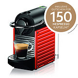 XN3045 Nespresso Pixie electric red
