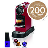 XN7415 Nespresso CitiZ cherry red