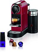 XN7615 Nespresso CitiZ & Milk cherry red