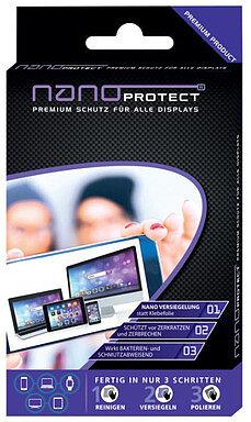 Produktabbildung Nanoprotect Displayschutz für Smartphone/Tablet/Notebook/Monitor/Watch