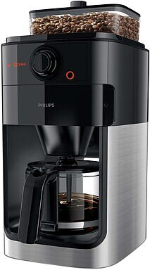 Produktabbildung Philips HD7767/00 Grind & Brew Collection schwarz