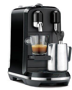 Produktabbildung Sage Nespresso Creatista Uno black sesame