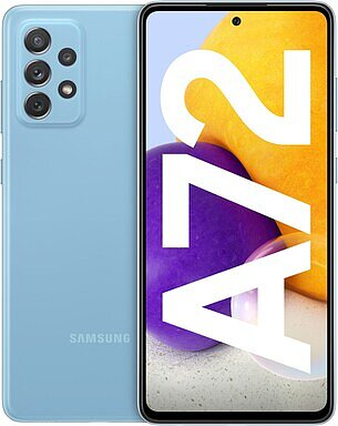 Produktabbildung Samsung Galaxy A72 (128GB) awesome blue