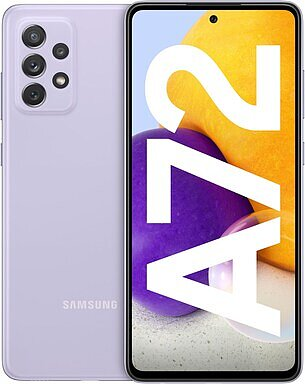Produktabbildung Samsung Galaxy A72 (128GB) awesome violet