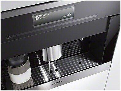 Miele cva 6401 edelstahl cleansteel espresso kaffee for Miele vollautomat
