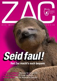 ZAC MAGAZIN Herbst/Winter 2014